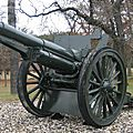 §§- canon de 4.7in m1906 à camp douglas, wi, usa