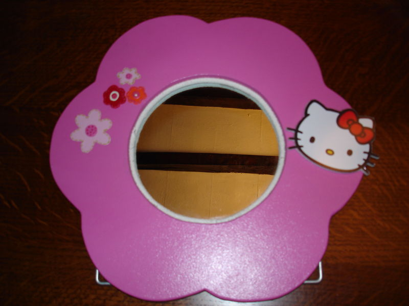 MIRROIR FLEUR HELLO KITTY