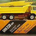 Berliet grh 230 6x4. lbs. 1/43.
