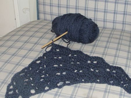 South Bay Shawlette encours 2