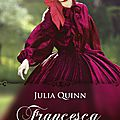 [parution] francesca de julia quinn
