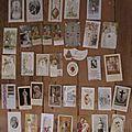 Lot de 36 images religieuses, diverses années et dimensions