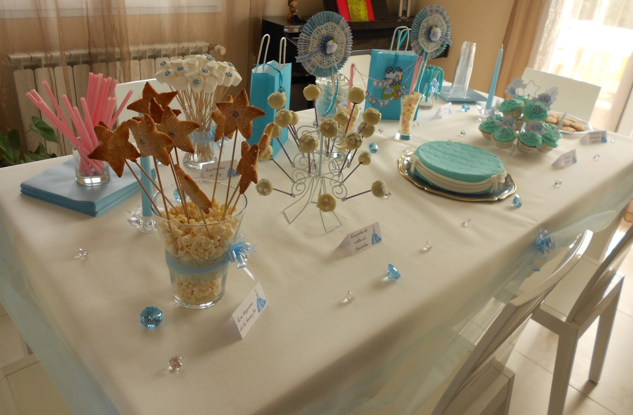 Sam fait son scrap - Decoration de table anniversaire 20 ans ...