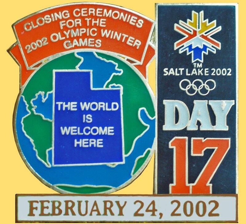 Pin's Salt Lake City Cloture