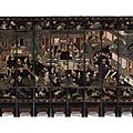 A twelve-leaf coromandel lacquer screen. qing dynasty, kangxi period - sothebys