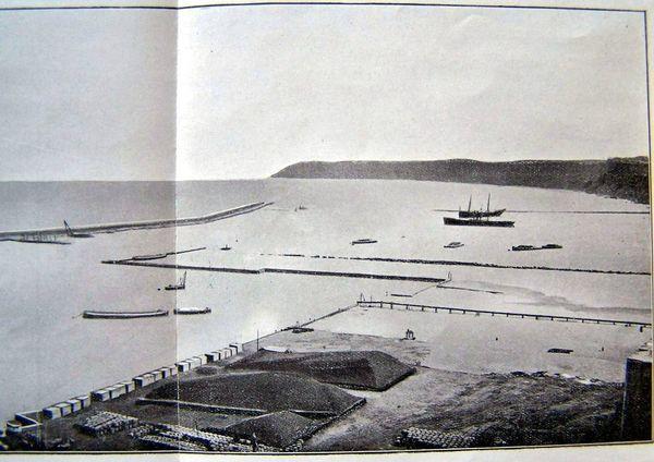 Oran- 152- travail sur les quais