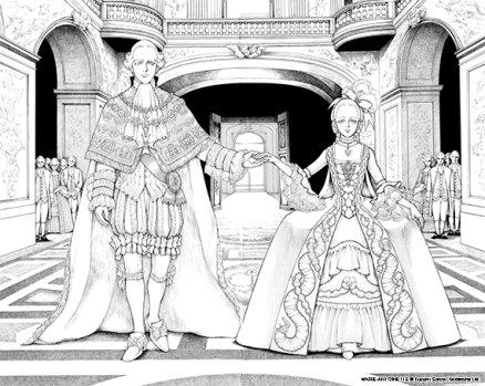 Marie-Antoinette de Fuyumi Soryo planche 1