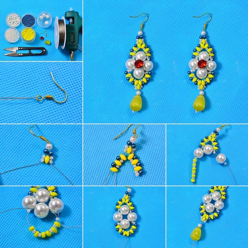 1080-Pandahall-Tutorial-on-Making-a-Pair-of-Handmade-Two-hole-Seed-Bead-Dangle-Earrings