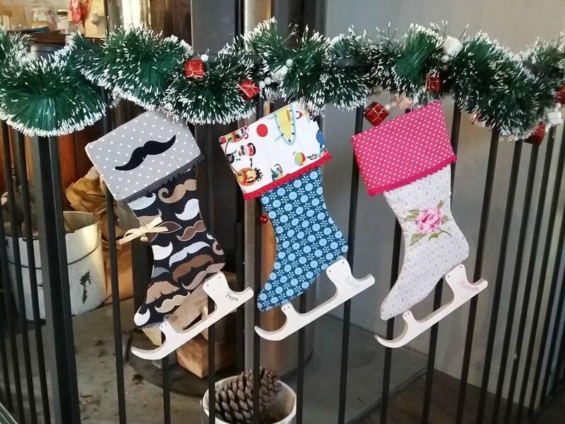 Nos chaussettes de Noël