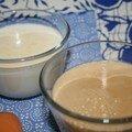 Panna cotta vanille... ou café