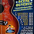 Acoustic Open Mic - flyer/verso