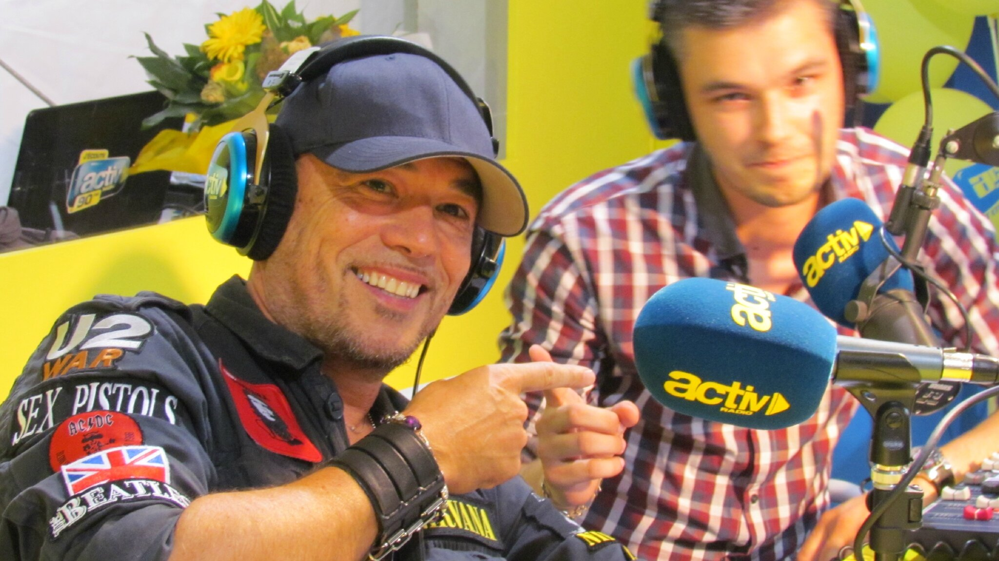 Journée promo pour @ObispoPascal le 19 septembre à Saint Etienne (Podcasts & Replay)