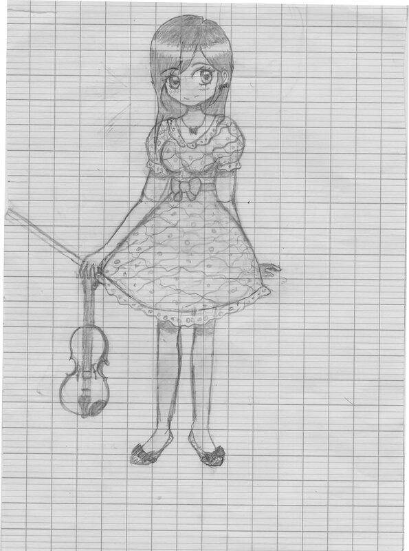 Brouillon violoniste