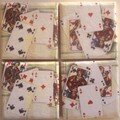 Jeux de cartes - Playing card coasters