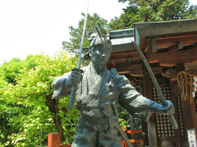 Miyamoto Musashi, Ichijoji, Kyoto, 2009