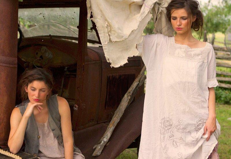 MP Cotton sleeveless slip dress with patches Baileybelle.victorien rose.à gauche.jpg