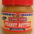 Biscuits au beurre cacahuètes biscottine