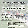 Trail du marquis et foulées vertes 2014