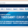 Mon interview sur europe1!