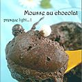 Mousse au chocolat...presque light !