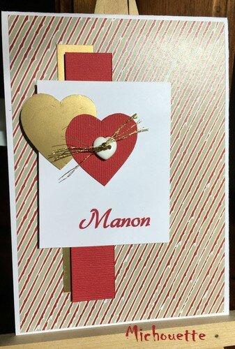 carte Valentin Manon2017