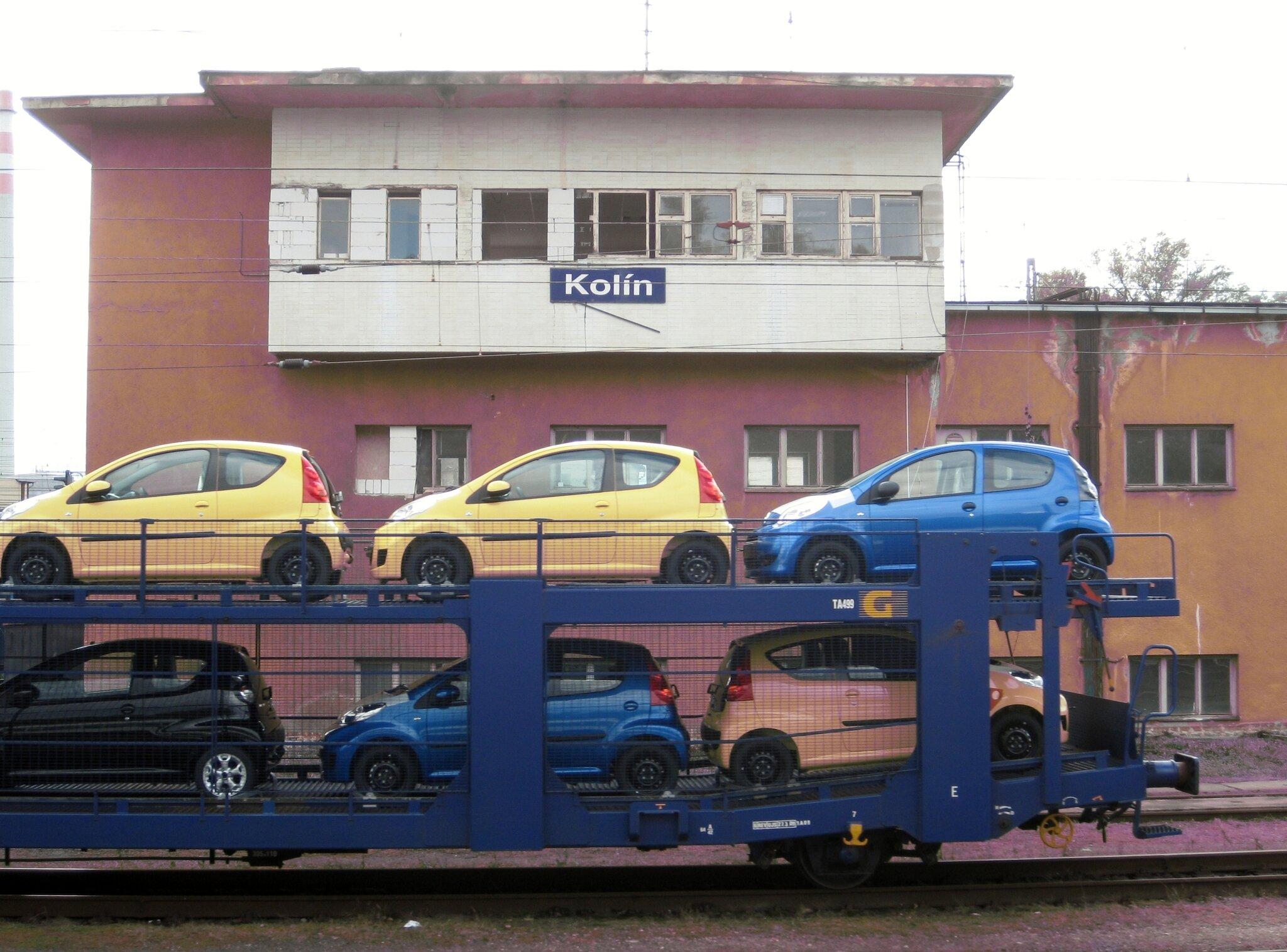 Kolìn (République Tchèque) Poste d'aiguillage