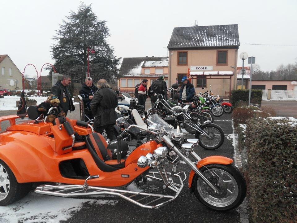 Balade hivernale avec le club de Biblisheim