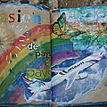 Art journal et gribouillages en retard... # 10 # 11 et # 13