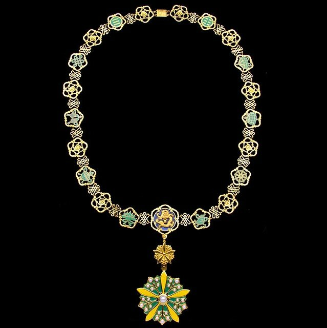 Spink to offer a rare Collar Chain and Badge of the Order of the Orchid Blossom