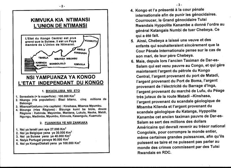 LE GRAND MAITRE MUANDA NSEMI DEMANDE A LA COUR PENALE INTERNATIONALE DE STATUER SUR LE CAS D'ASSASSINANT DE CHEBEYA EN RDC b