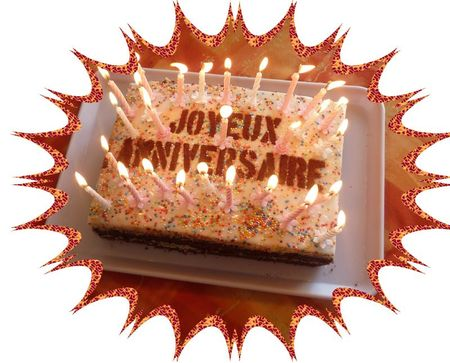gâteau anniv Emilie