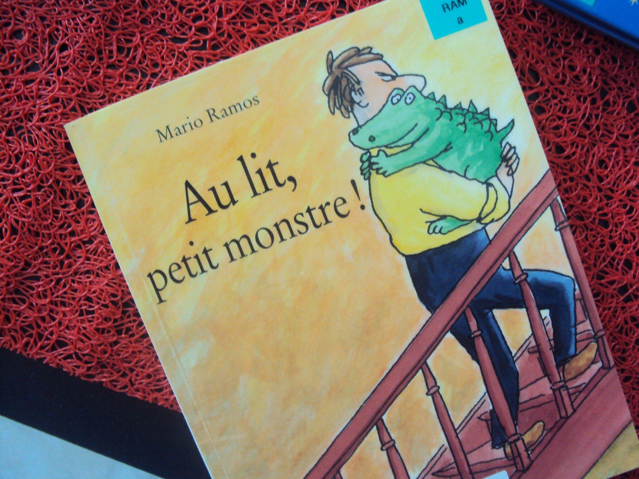Au lit petit monstre le petit train des livres d 39 emilie - Monstre de mario ...