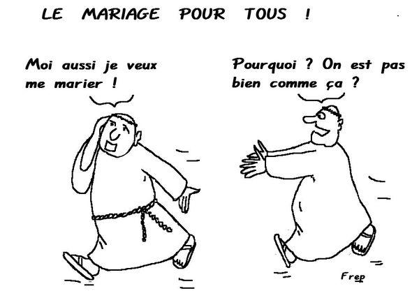 Dessin Mariage Pour Tous
