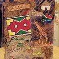 Circle journal Afrique du Sud, 21X29 plié, oct 2006