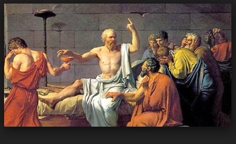 La mort de Socrate de David