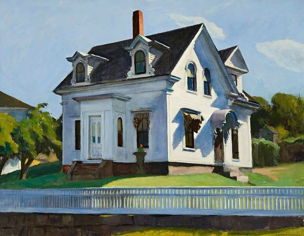 Edward Hopper Maison de Hodgkin Cape Ann Massachusetts 1928