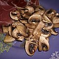 CHAMPIGNONS AU CUMIN