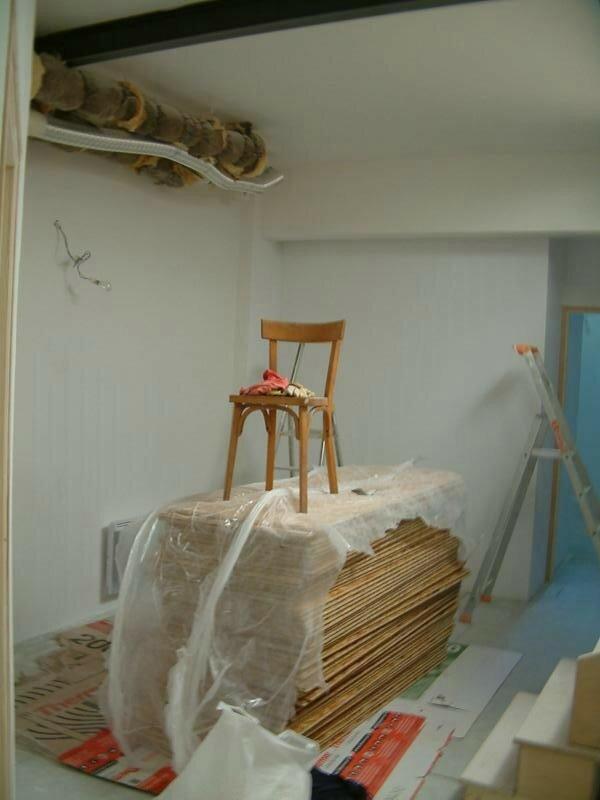 et une palette d 39 osb 3 une le loft de cegemil. Black Bedroom Furniture Sets. Home Design Ideas