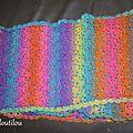 Une écharpe colorée