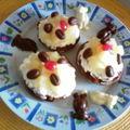 Minis tartelettes fondantes fouré chantilly/fruits