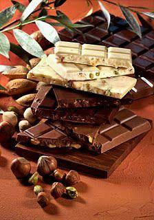 types de chocolats