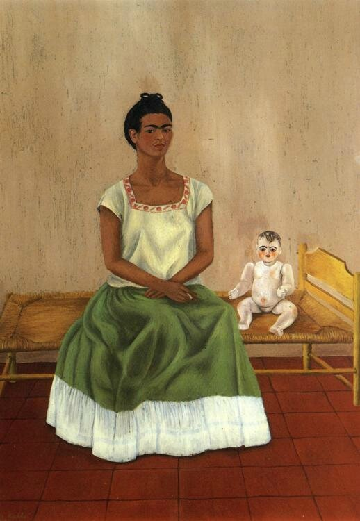 Mexique_Me and my doll _Frida Kalho