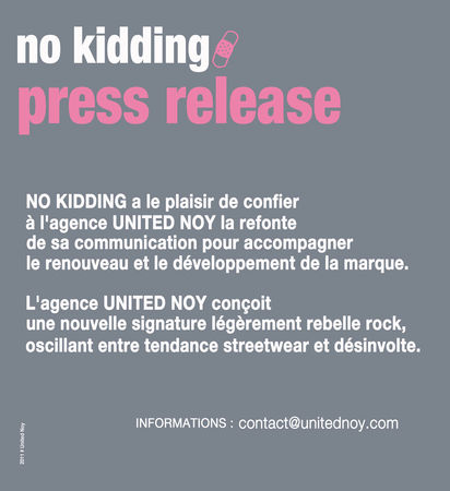 NO_KIDDING_Stephanie_Pioge_Press_Release