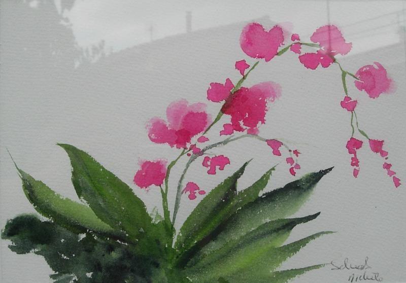 Fleurs - Aquarelle