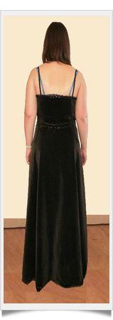 Audrey robe dos essayage-framed