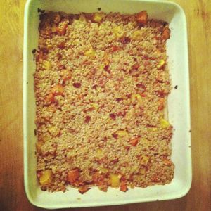 crumble courge 1