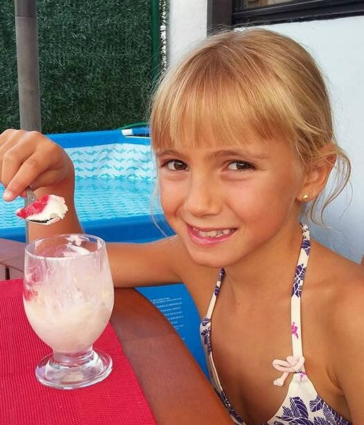 lea glace topping fraise