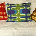 Coussin 70's