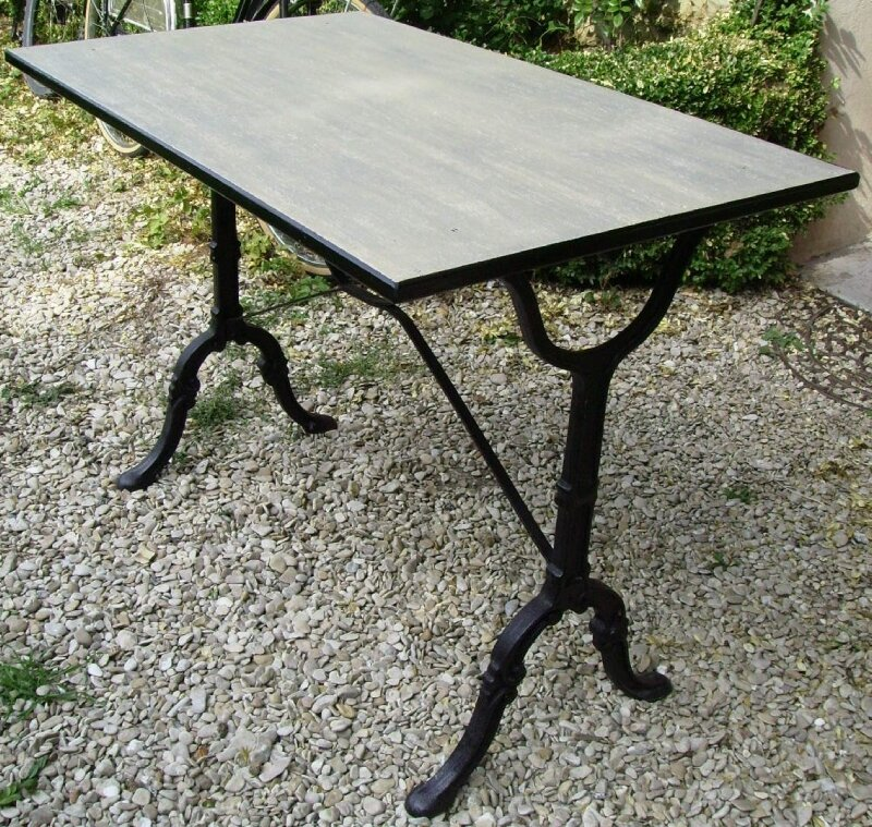 Table bistrot photo de bureaux tables etc custom - Table de bistrot ancienne ...