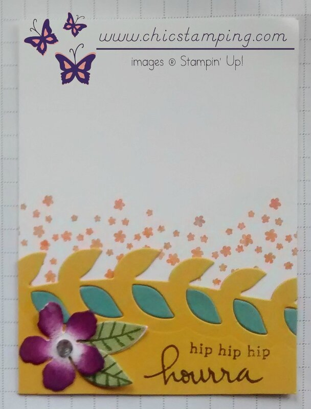DIY project life card series bontanical bloom #2